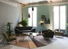 Pop up Store RED Hotel Marshall Septembre 2013 Sofa, Couch, Pierre Frey, Home Interior Design, Home Furniture, Armchair, Sweet Home, Mid Century, Living Room