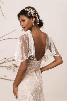 Justin Alexander Signature — Little White Dress Bridal Shop White Bridal Dresses, Lace Wedding Dress, Wedding Dress Trends, Dream Wedding Dresses, Boho Wedding, Bridal Gowns, Wedding Gowns, Art Deco Wedding Dress, Bohemian Weddings