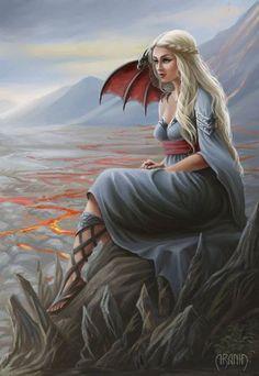 Mother of Dragons   Artist: Araniart