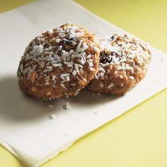 No bake peanut butter graham cookies.