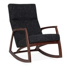 Cult Living Stanley Rocking Chair in Dark Grey | Cult Furniture UK