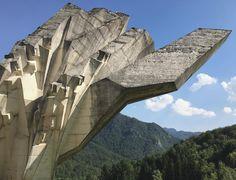 Tjentište #momument by Miodrag Živković / #balkan #spomenik #brutalist #utopian #concrete #brutalism #architecture #tjentiste