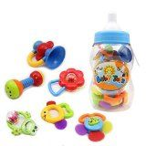 Wishtime Baby's First Rattle and Teether Toy 9 Pieces with Giant Baby Bottle Coin Bank Gift Sets- Colors May Vary Reviews - http://shopattonys.com/wishtime-babys-first-rattle-and-teether-toy-9-pieces-with-giant-baby-bottle-coin-bank-gift-sets-colors-may-vary-reviews/