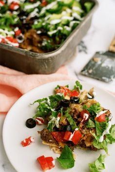Try this 20 minute taco salad casserole recipe when you are low on time. It has a lot of great flavor and will please the whole family. Best Easy Dinner Recipes, Easy Healthy Recipes, Easy Meals, Taco Salad Casserole Recipe, Casserole Recipes, Pork Recipes, No Cook Meals, Stuffed Peppers, Ethnic Recipes