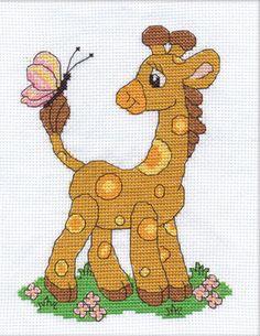 148 Beste Afbeeldingen Van Borduren Thema Giraffen Cross Stitch