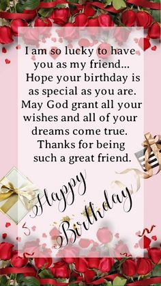 Happy Birthday Prayer, Happy Birthday Friend Images, Birthday Wishes For A Friend Messages, Happy Birthday Girlfriend, Free Happy Birthday Cards, Happy Birthday Wishes For A Friend, Birthday Wishes For Friend, Birthday Message To Myself, Birthday Collage