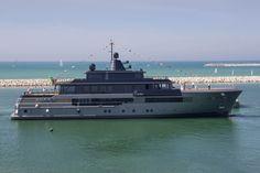 Yacht di lusso CRN Atlante varato ad Ancona