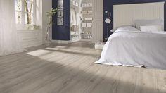 Garantiert ohne PVC und Weichmacher: MEISTER Designboden Tecara DD 350 S | Eiche altgrau 6937 | Woodlike-Struktur