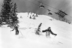 Snowbird Resort opened in 1971. The iconic 125-person tram takes skiers 2,900 vertical feet to the top.