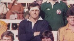 A screen grab showing Tony Abbott at an Oxford v Cambridge invitational match in 1981.