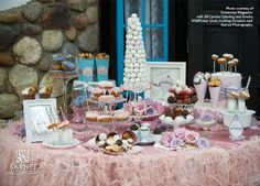Breakfast themed party - donuts, cereal bar, hot chocolate