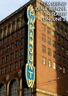 Idina Menzel LIVE - The Paramount Theatre - June 2, 2012