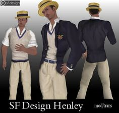 What's New SL: SF Design Henley - new outfit for men