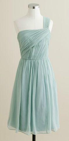 silk chiffon bridesmaid dress