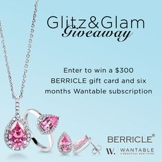 It's #Friday! I am entering to win a $300 BERRICLE gift card and a 6 month Wantable subscription!