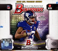 We offer a selection of 2015 Bowman Football Cards on Sportlots - go to http://www.sportlots.com/dealers/?dealer=DBoninJr&ref=DBoninJr and under search DBoninJr cards enter what you are looking for. Search by card, set, or player.