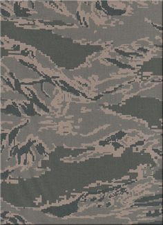 united states  Air Force 'digital tiger-stripe' camouflage 2007 - present