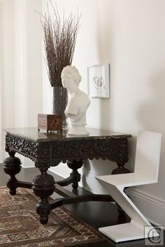Rough Luxe Lifestyle-Black and White Decor-Why it Works-Daryl Carter