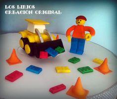 LEGO STYLE CAKE  (PASTILLAJE 3D)