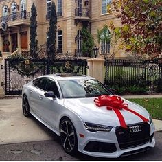 Tag the person you would gift this Audi #RS7 to   follow me @finecarworld for more  Via • @audisarasota