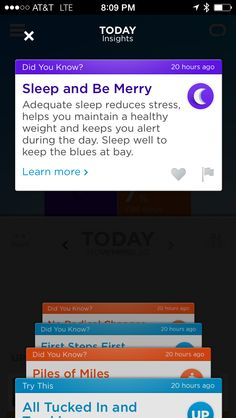 Jawbone UP24 fitness tracker tips, customized for the December holiday season. #mobile #apps #iOS
