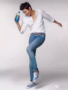 Lee Min Ho for Pepsi.
