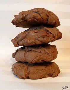 Giant Double Chocolate Cookies