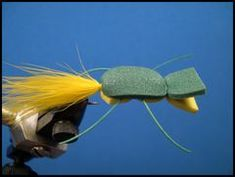 Hot Lips Foam Popper - Smallmouth/Largemouth, should work for bluegill in a smaller size