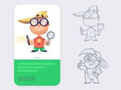 Characters by spovv #Design Popular #Dribbble #shots