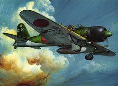 Japan War Planes | ... , Fighter, Japan, Japanese, Mitsubishi, Sky, War, WW2, Zeke, Zero