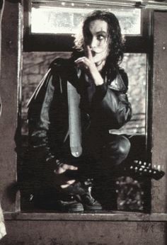 The Crow. My dad and I watched this movie all the time when I was little.