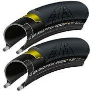 Continental Grand Prix 4000S II Road Tyre - 23c PAIR