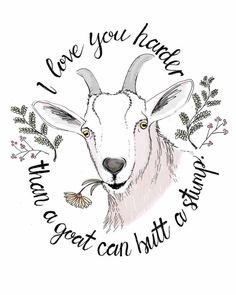 Farm Animals, Cute Animals, Goat Art, Cute Goats, Farm Art, Goat Farming, Baby Goats, Rustic Art, Moose Art
