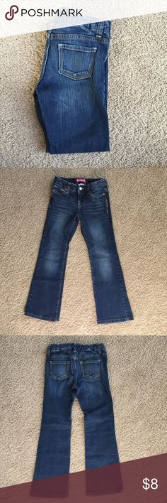 Girl's Jeans Great condition, worn a few times. No holes or tears. Boot-cut style with an adjustable waist. Old Navy Bottoms Jeans