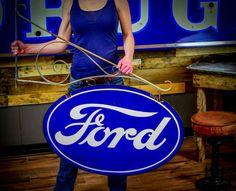 Original Ford Porcelain Sign