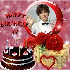 Happy Birthday Photos, Min Ho, Lee Min, Birthday Cake, Birthday Cakes, Happy Birthday Pics, Cake Birthday