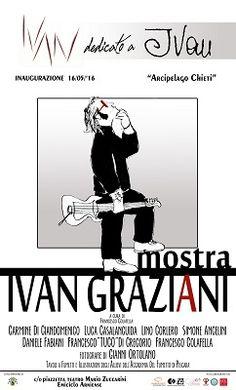 Chieti dal 14 al 21 maggio mostra tributo a Ivan Graziani