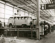 Old VW factory