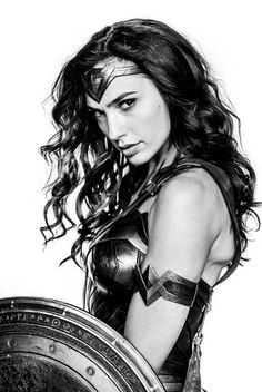 wonder woman. hot!