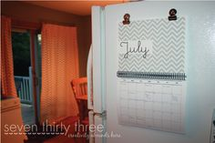 Free printable calendar for the school year! Love these designs!