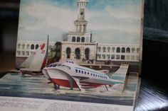 a pop-up book from the former USSR