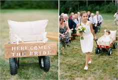 """I want there to be open space on the back so a sign can be put on the back saying """"here comes the bride"""" when the little ones come down the aisle, that during the ceremony would be untied and flipped around to say something like """"and they lived happily ever after"""" or """"just married"""" etc"""