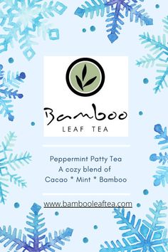 Blending bamboo with other highly medicinal elements is so much fun. Bamboo really lends itself to be blended with any variations. The sweet light flavor adds depth and benefits that all are sure to enjoy. Bamboo Leaves, Peppermint Patties, Raw Desserts, Cacao Nibs, Chocolate Flavors, Simple Syrup, Tea, Sweet, Holiday
