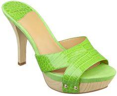 #NineWest                 #Women #Shoes             #sandal #heel #platform #slide #wood                EASTNOR                   Platform slide sandal with wood 3 3/4heel and 1 platform.                     http://pin.seapai.com/NineWest/Women/Shoes/1061/buy