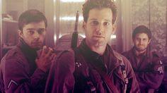 Band of Brothers - The Last Patrol Skinny Sisk, David Webster & George Luz.