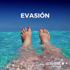 😍 Relajarse, reflexionar, imaginar, olvidar... Evasión en una piscina Arromel. 🙂