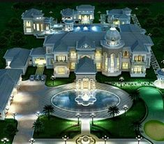 Mansion Homes, Dream Mansion, Mansion Interior, Dream House Exterior, Dream House Plans, Villa Plan, Dream Home Design, Modern House Design, Victorian Houses