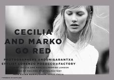 CECILIA AND MARKO GO RED