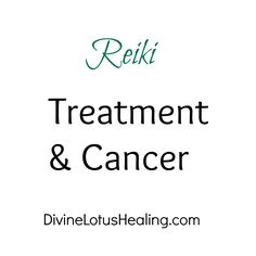 Divine Lotus Healing | Reiki Treatment and Cancer