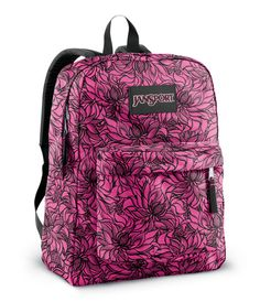 Jansport High Stakes Backpack Fluorescent Pink